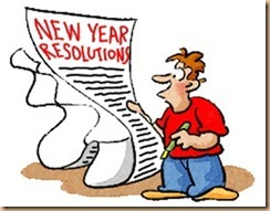 new years resoltuion